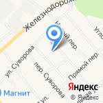 Рощинская детская школа искусств на карте Санкт-Петербурга