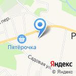 Рощинская средняя общеобразовательная школа на карте Санкт-Петербурга