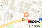 Схема проезда до компании Qiwi в Рощино