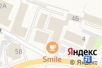 Схема проезда до компании Катюша в Рощино