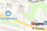 Схема проезда до компании Банкомат, Банк ВТБ 24 в Рощино