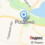 Рощинское ПО на карте Санкт-Петербурга