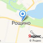 Зеленая фазенда на карте Санкт-Петербурга
