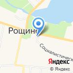 Администрация городского поселения Рощинское на карте Санкт-Петербурга
