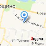 Оланд на карте Санкт-Петербурга