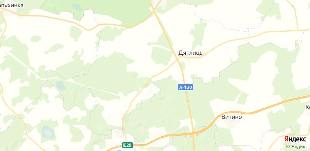 Красный Бор на карте