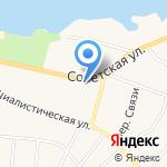 Рощинское потребительское общество на карте Санкт-Петербурга