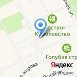 Царство-королевство на карте Санкт-Петербурга