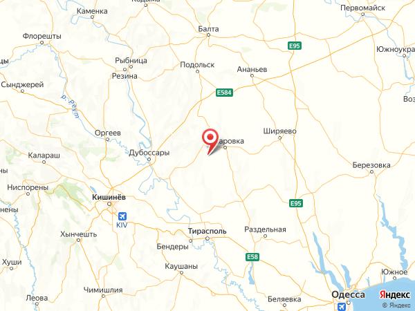 село Самойловка на карте