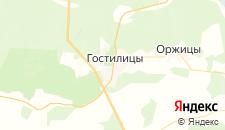 Отели города Гостилицы на карте