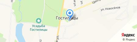 Гостилицкая детская школа искусств на карте Гостилиц