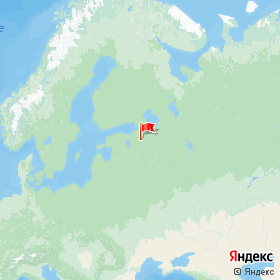 Weather station Krasnie Gori in Krasnyye Gory, Leningrad Region, Russia