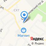Новое Рощино на карте Санкт-Петербурга
