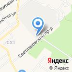 Автоконтроль на карте Санкт-Петербурга