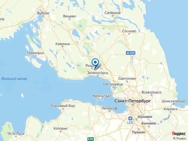 СНТ Красный Октябрь на карте