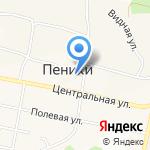 Администрация сельского поселения Пеники на карте Санкт-Петербурга