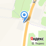 БАЛТИЙСКИЙ БЕРЕГ на карте Санкт-Петербурга