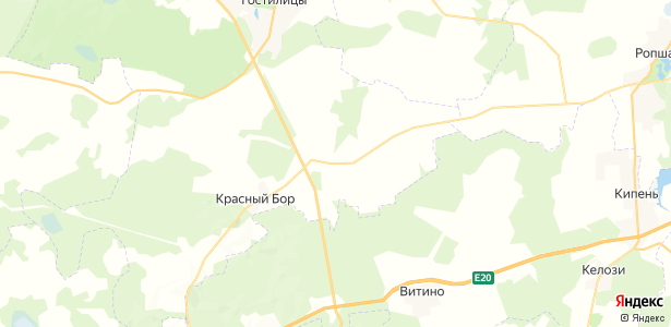 Дятлицы на карте