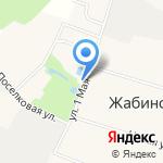 Большевик на карте Санкт-Петербурга