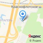 Гик на карте Санкт-Петербурга