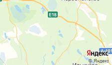 Отели города Озерки на карте
