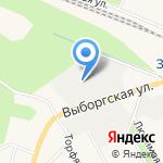 Третий парк на карте Санкт-Петербурга
