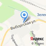 Пеленг на карте Санкт-Петербурга