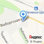 Северная лагуна на карте Санкт-Петербурга