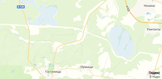 Петровское на карте
