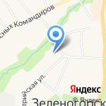 Начальная школа №611 на карте Санкт-Петербурга