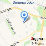 Зеленогорский районный суд на карте Санкт-Петербурга