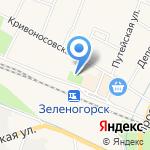 Ермолино на карте Санкт-Петербурга