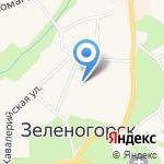 Муниципальное образование г. Зеленогорск на карте Санкт-Петербурга