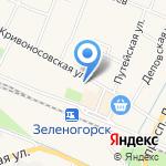 Корма-Фураж на карте Санкт-Петербурга