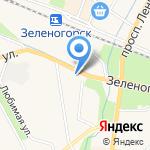 ПОИСК-П на карте Санкт-Петербурга