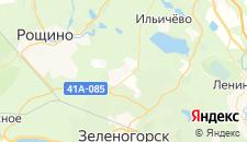 Гостиницы города Решетниково на карте