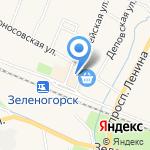 Изумруд на карте Санкт-Петербурга