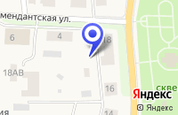 Схема проезда до компании ЖИЛИЩНОЕ АГЕНТСТВО КУРОРТНОГО Р-НА в Зеленогорске