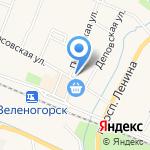 Магазин строительных и отделочных материалов на карте Санкт-Петербурга