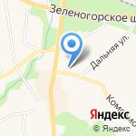 Полис на карте Санкт-Петербурга