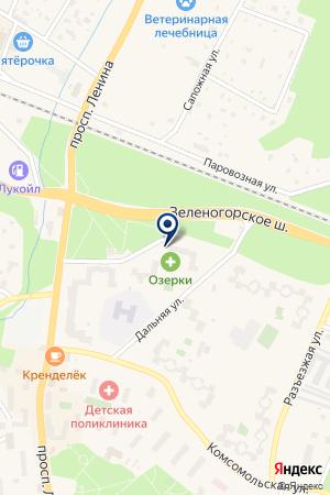 СТРОИТЕЛЬНАЯ ФИРМА ЗСК на карте Санкт-Петербурга
