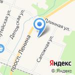 Ветеринарная станция Кронштадтского на карте Санкт-Петербурга