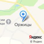 Муниципальное образование Оржицкое сельское поселение на карте Санкт-Петербурга