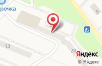 Схема проезда до компании Верный в Оржицах