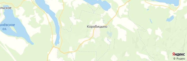 Красное озеро (Коробицыно) на карте