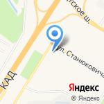 Люкс на карте Санкт-Петербурга