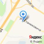 Магазин по продаже фруктов и овощей на карте Санкт-Петербурга