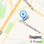 Сеть продовольственных магазинов на карте Санкт-Петербурга