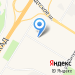 Магазин белорусской одежды на карте Санкт-Петербурга