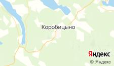 Отели города Коробицыно на карте